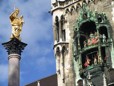 Muenchen Altes Rathaus Tur