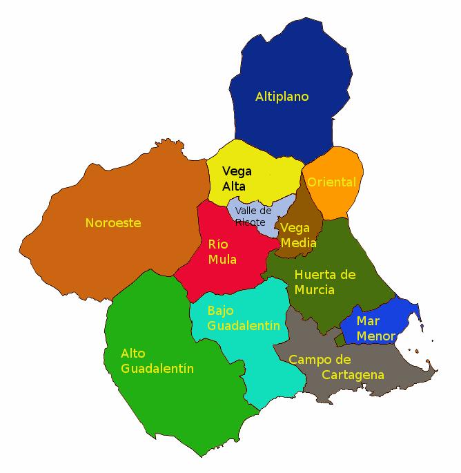 murcia mapa Toma nota yviaja!: MURCIA murcia mapa