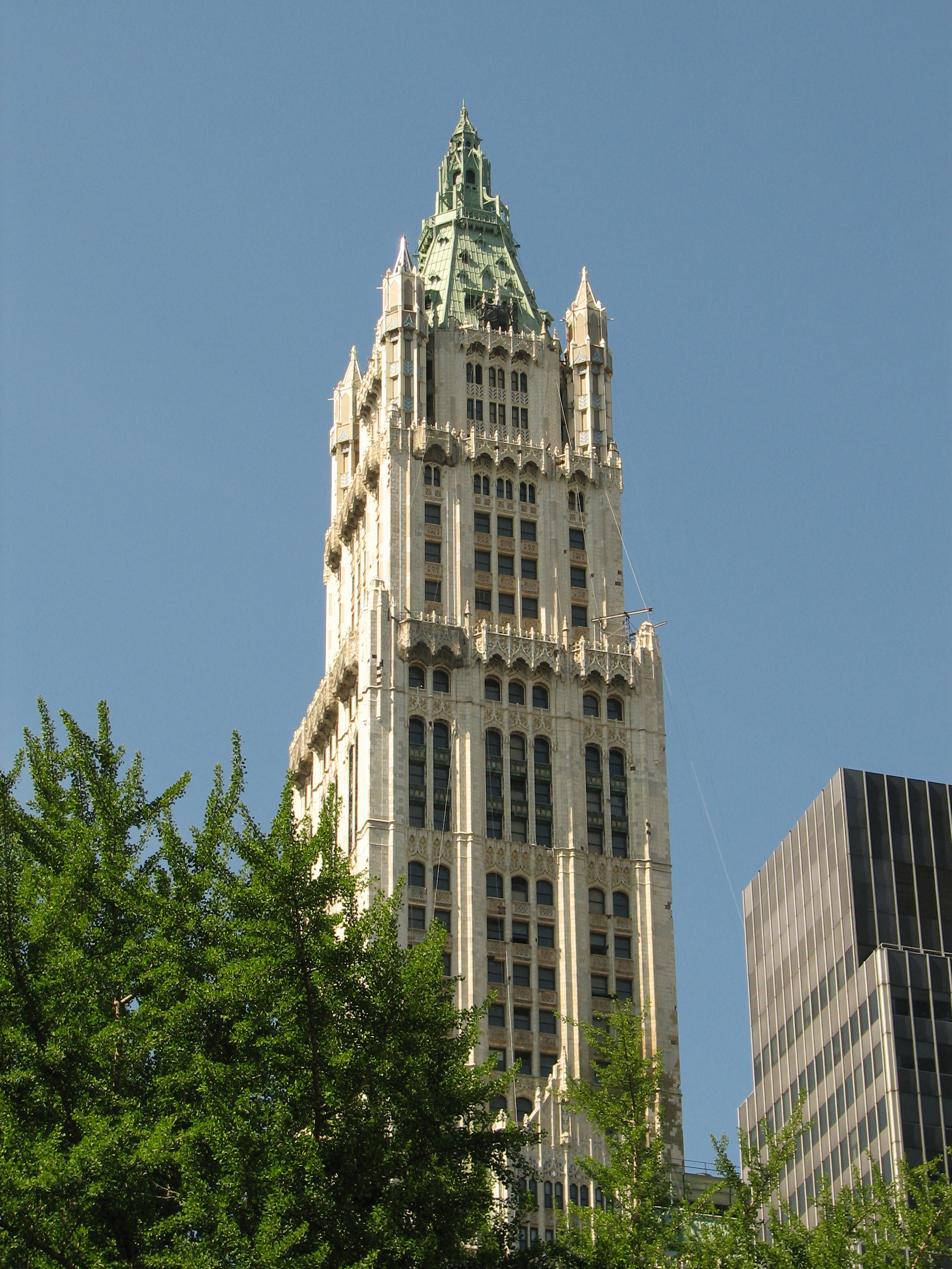 Description new york city woolworth building 05