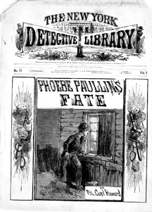 1886 OLD SLEUTH LIBRARY 24 GEORGE MUNRO NEW YORK DIME NOVEL STORY PAPER