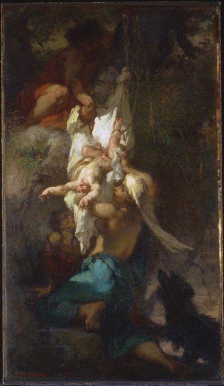 Ca s'est passé en octobre ! Oedipus-taken-down-from-the-tree-1847