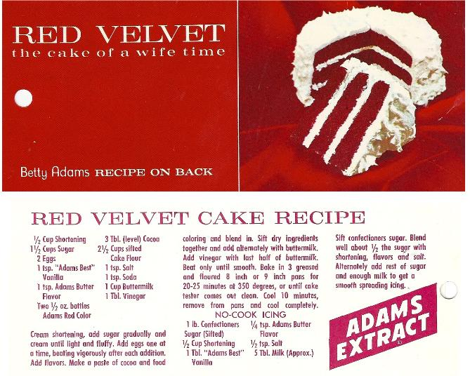 Does Red Velvet Cake Have Chocolate In It
