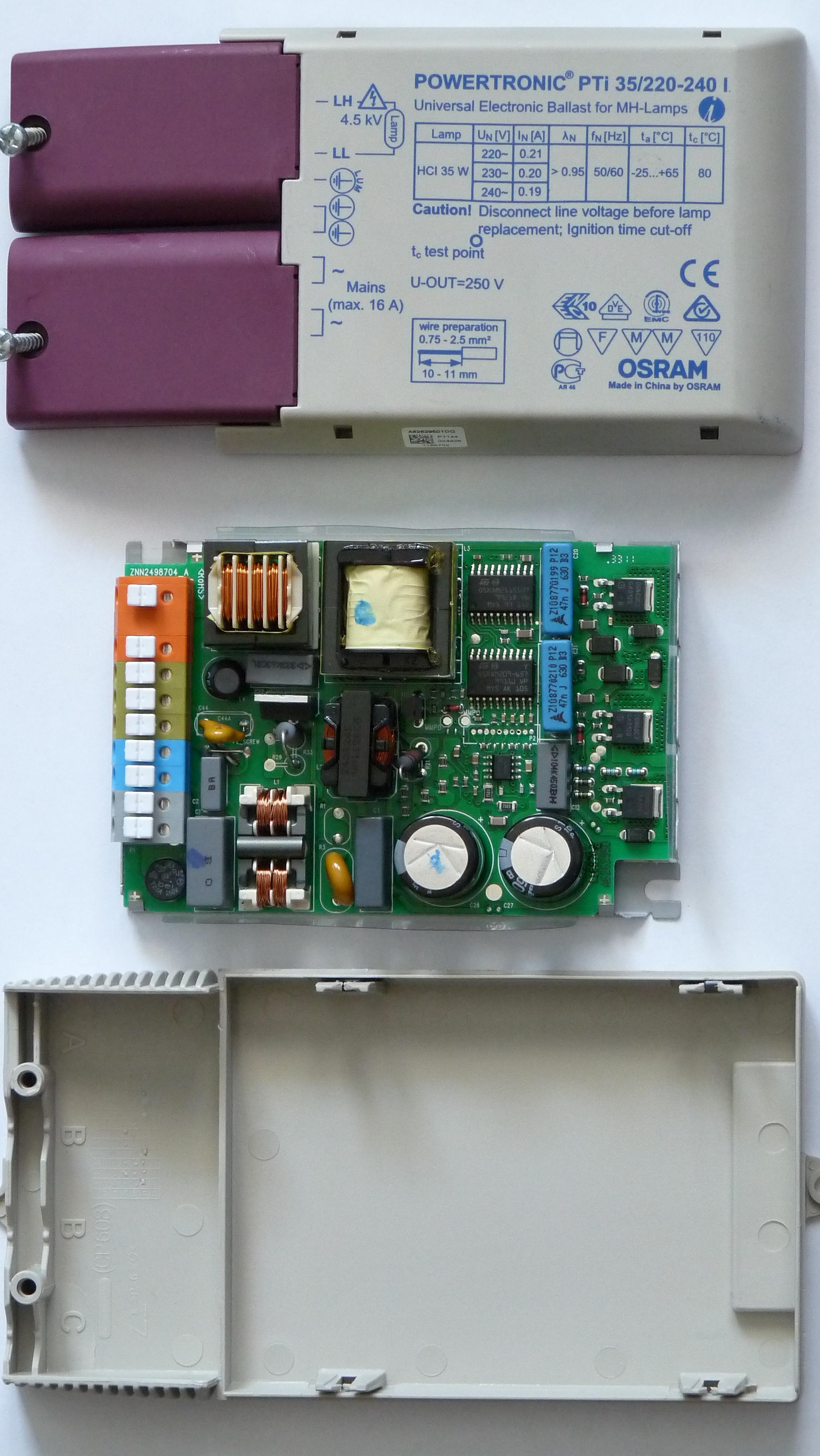 metal halide pulse start ballast wiring diagram mercury