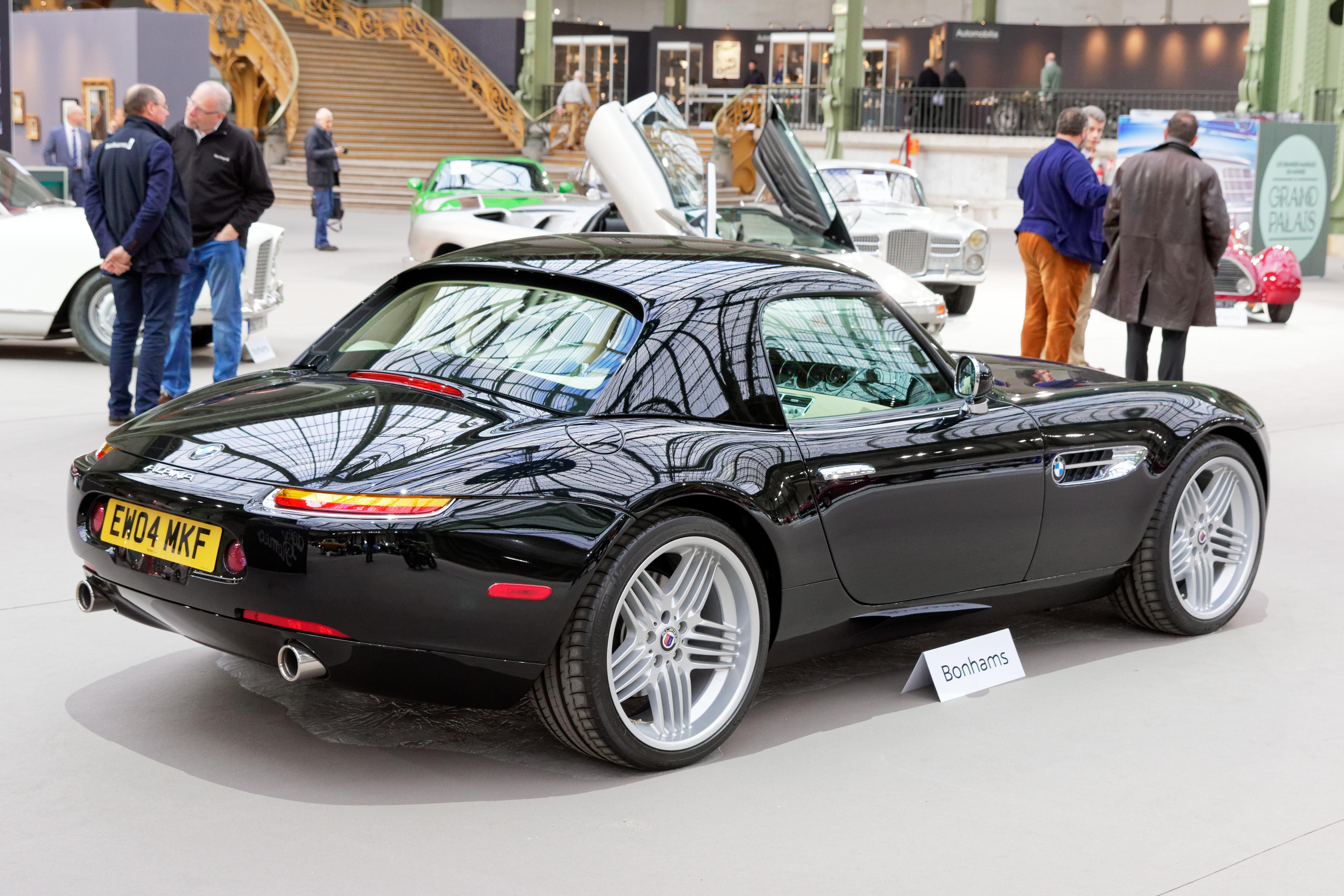 BMW Z8 Alpina >> File Paris Bonhams 2017 Bmw Z8 Alpina V8 Roadster