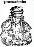 Grabado de Pedro Alfonso de Huesca