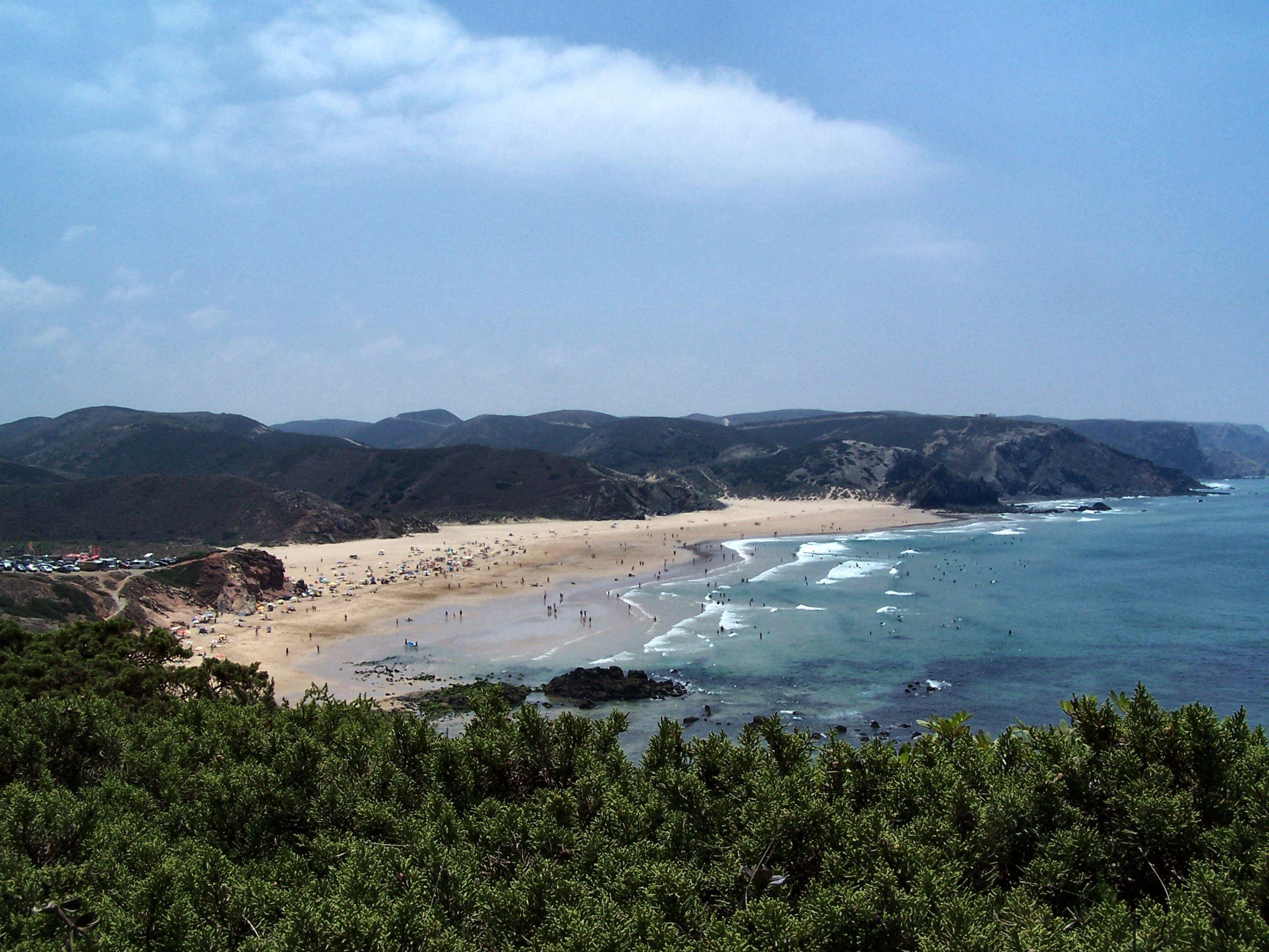 Annual average weather for Praia do Amado, Bordeira, Portugal