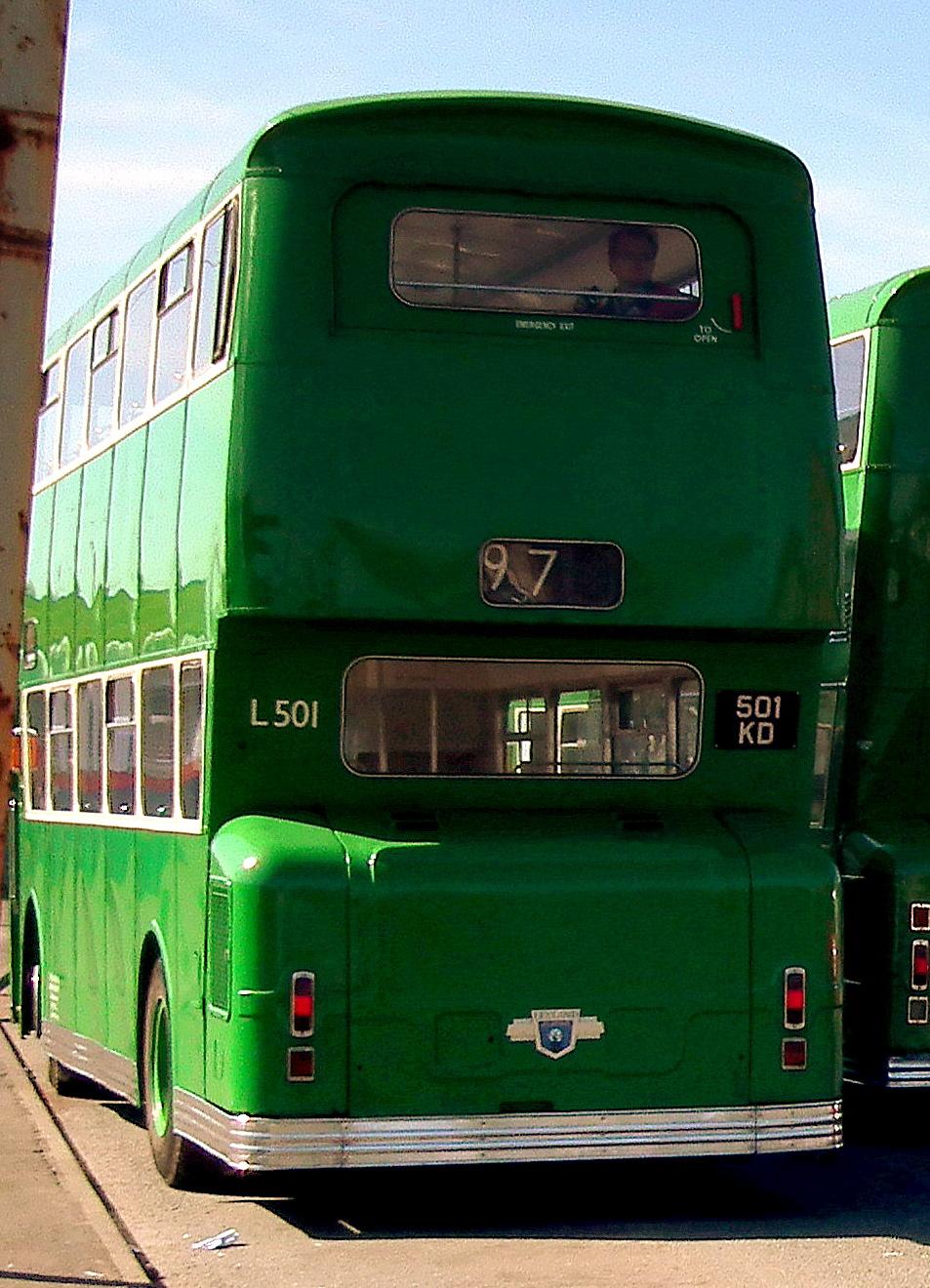 File Preserved Liverpool Corporation Bus L501 501 Kd