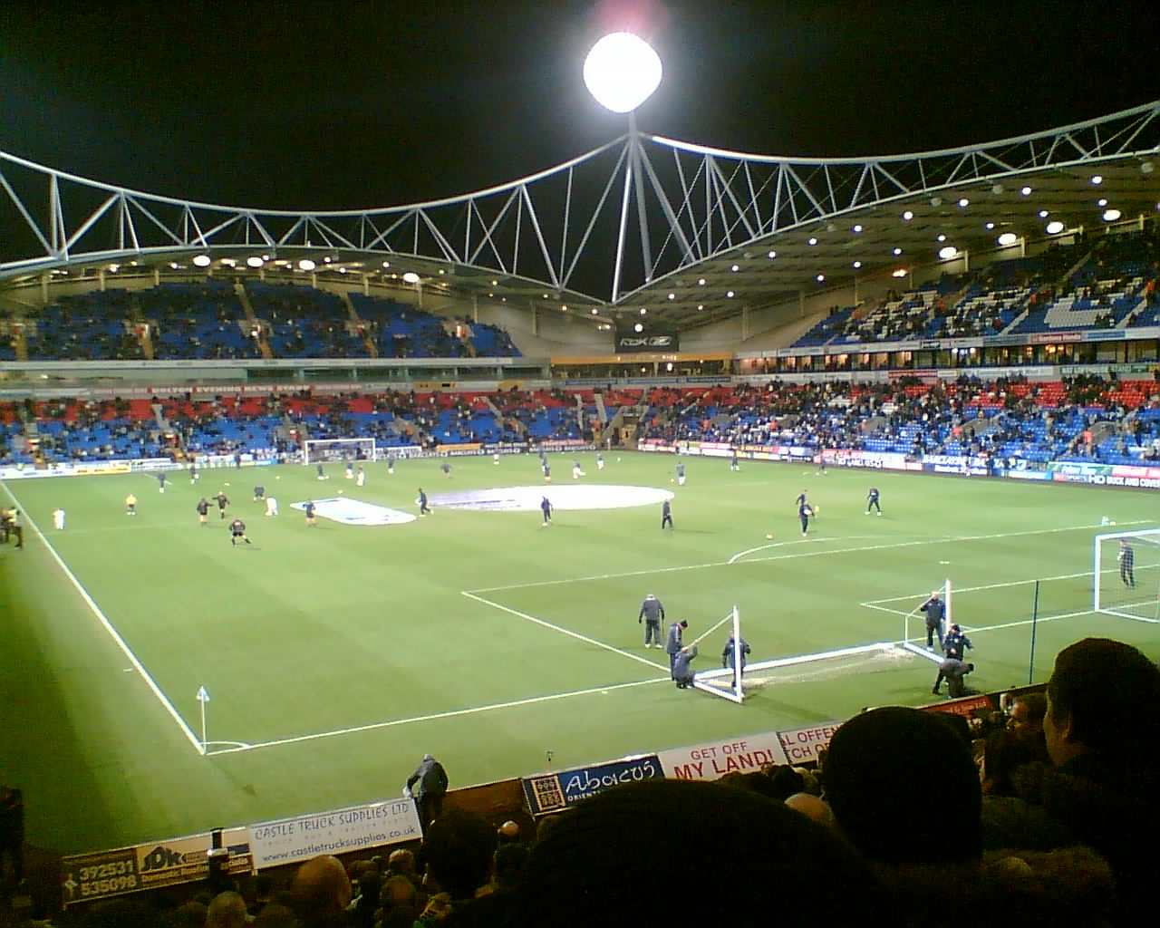 University Of Bolton Stadium Wikipedia