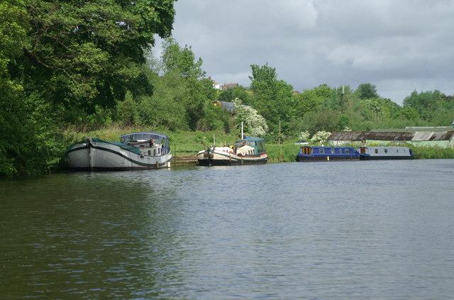 River Avon above Saltford - geograph.org.uk - 180858