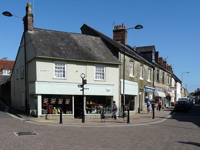 Salisbury Street, Shaftesbury - geograph.org.uk - 1440098
