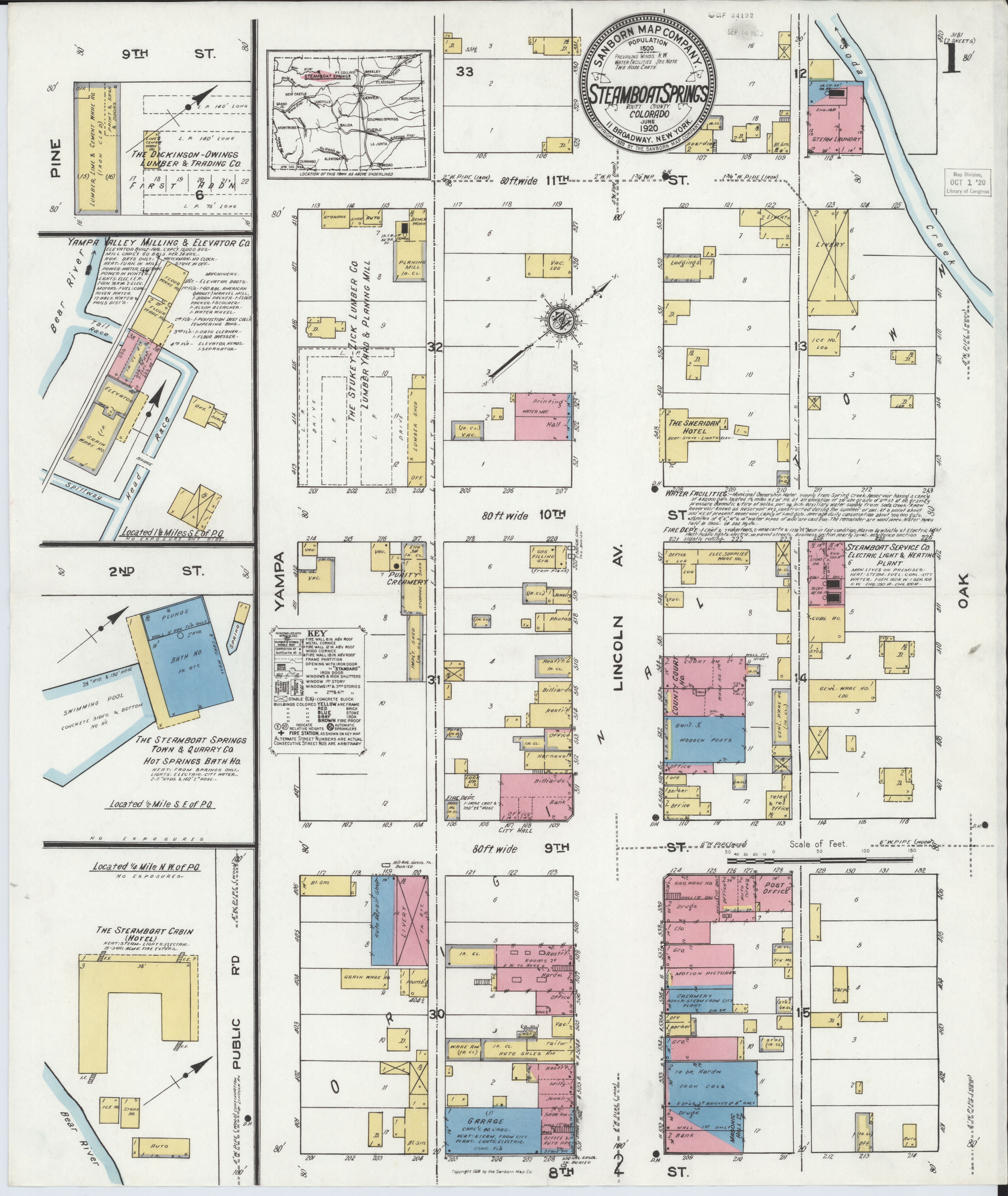 File Sanborn Fire Insurance Map From Steamboat Springs Routt County