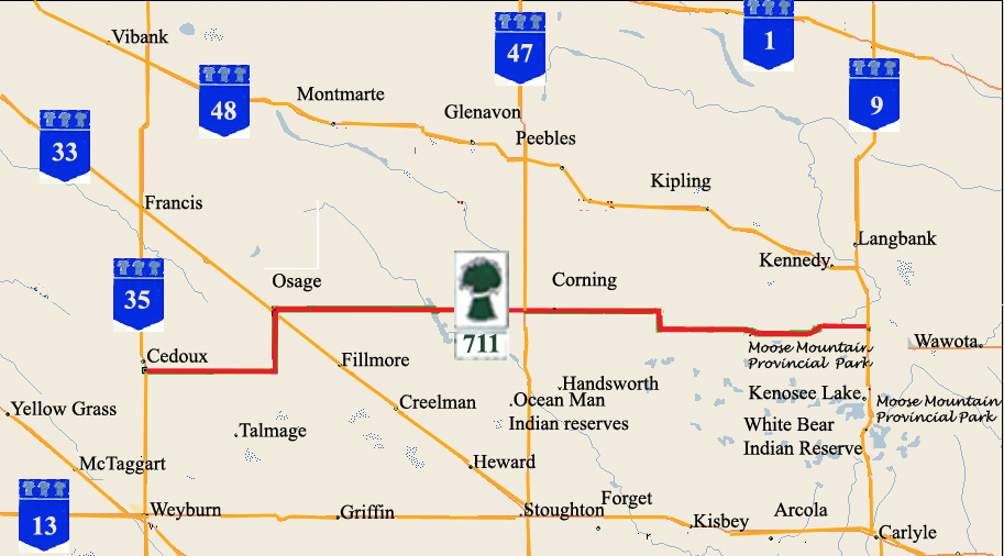 Saskatchewan Highway 711 - Wikipedia
