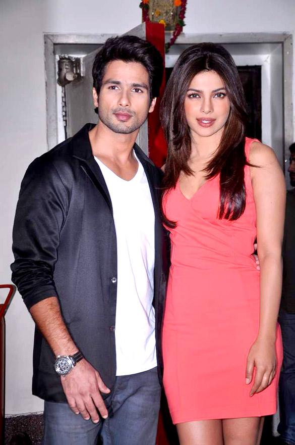 Priyanka and shahid kapoor dating
