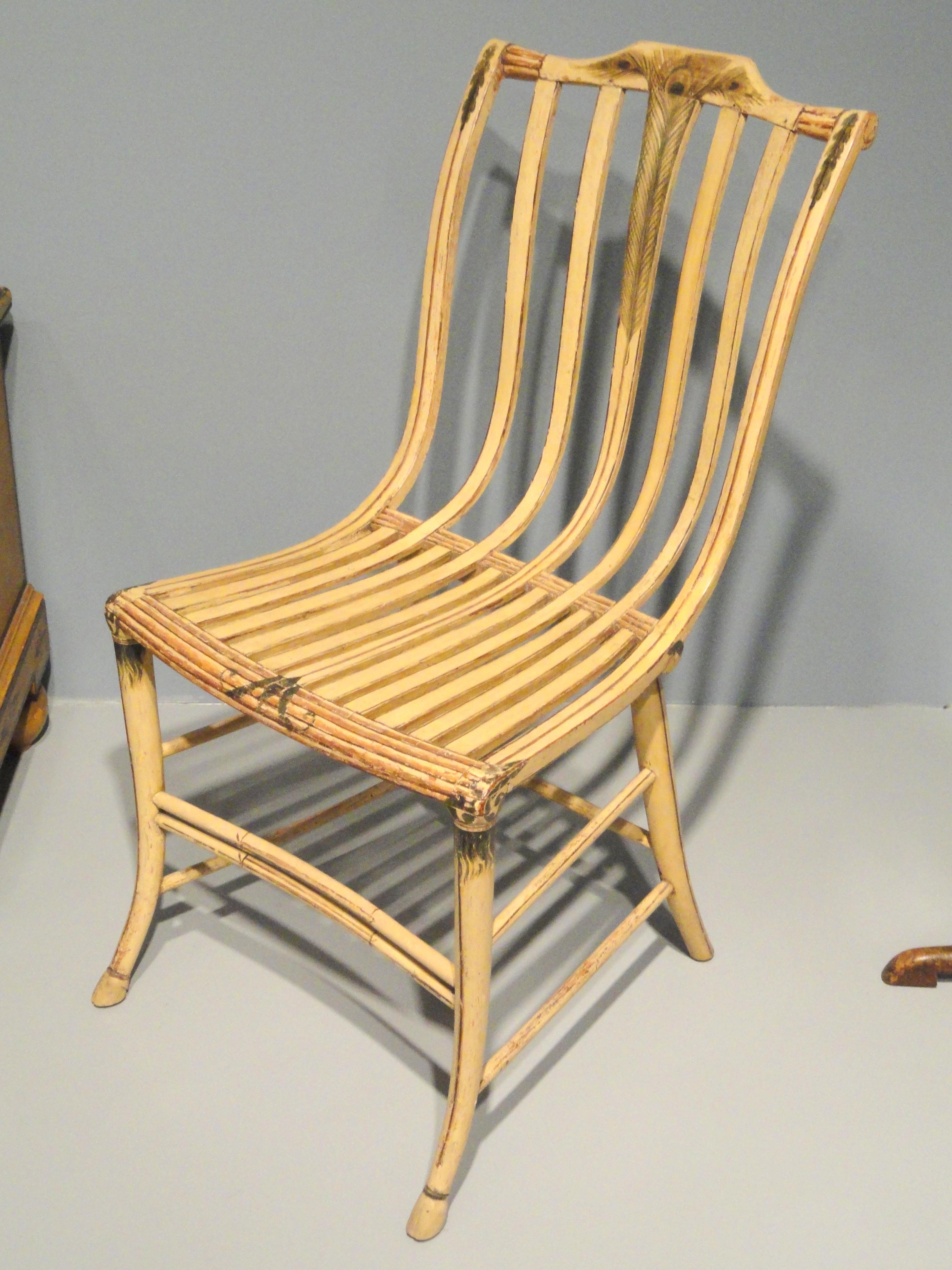 FileSide Chair 1808 1812 Samuel Gragg Boston Massachusetts