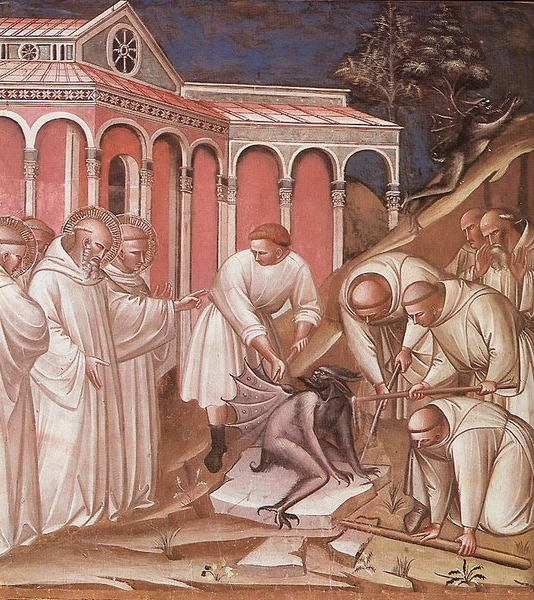 File:Spinello Aretino Exorcism of St Benedict.jpg