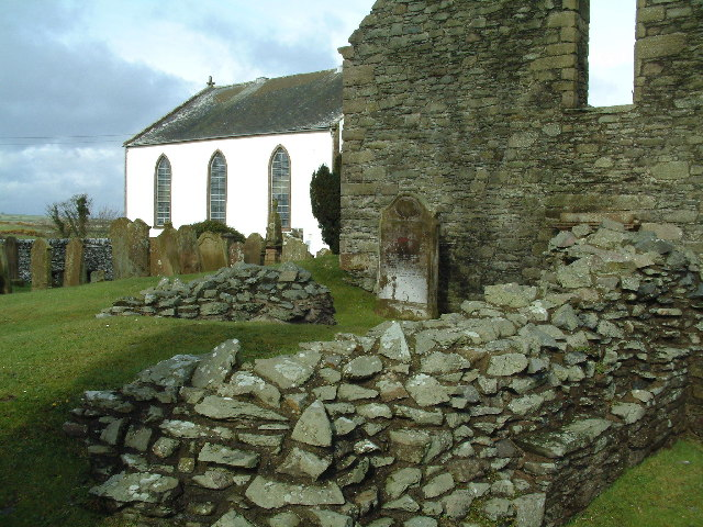 The remains of St. Ninians Chapel, Whithorn