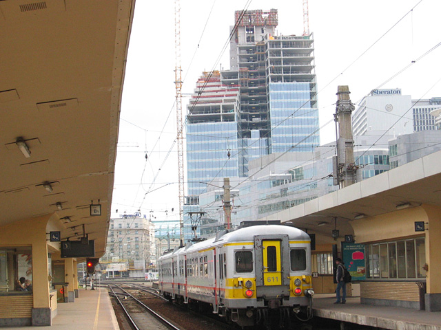 Brussels-North railway station