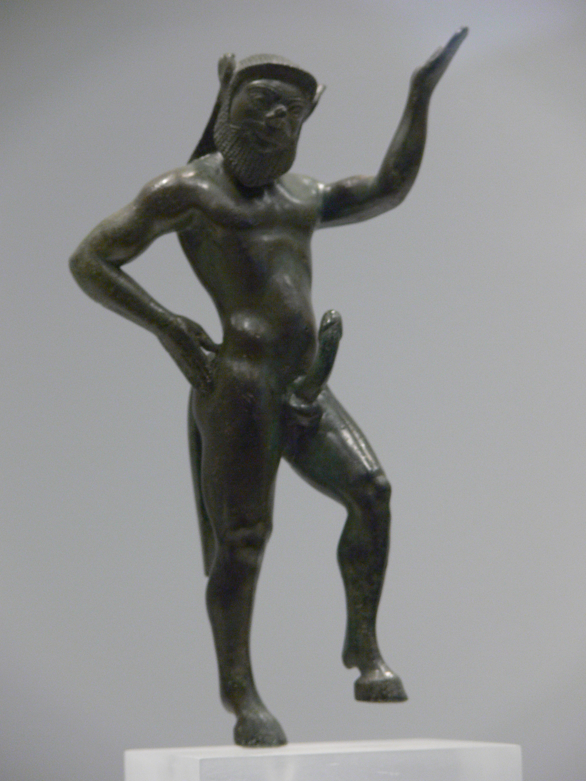 Mythological warriors with erect penises porn image