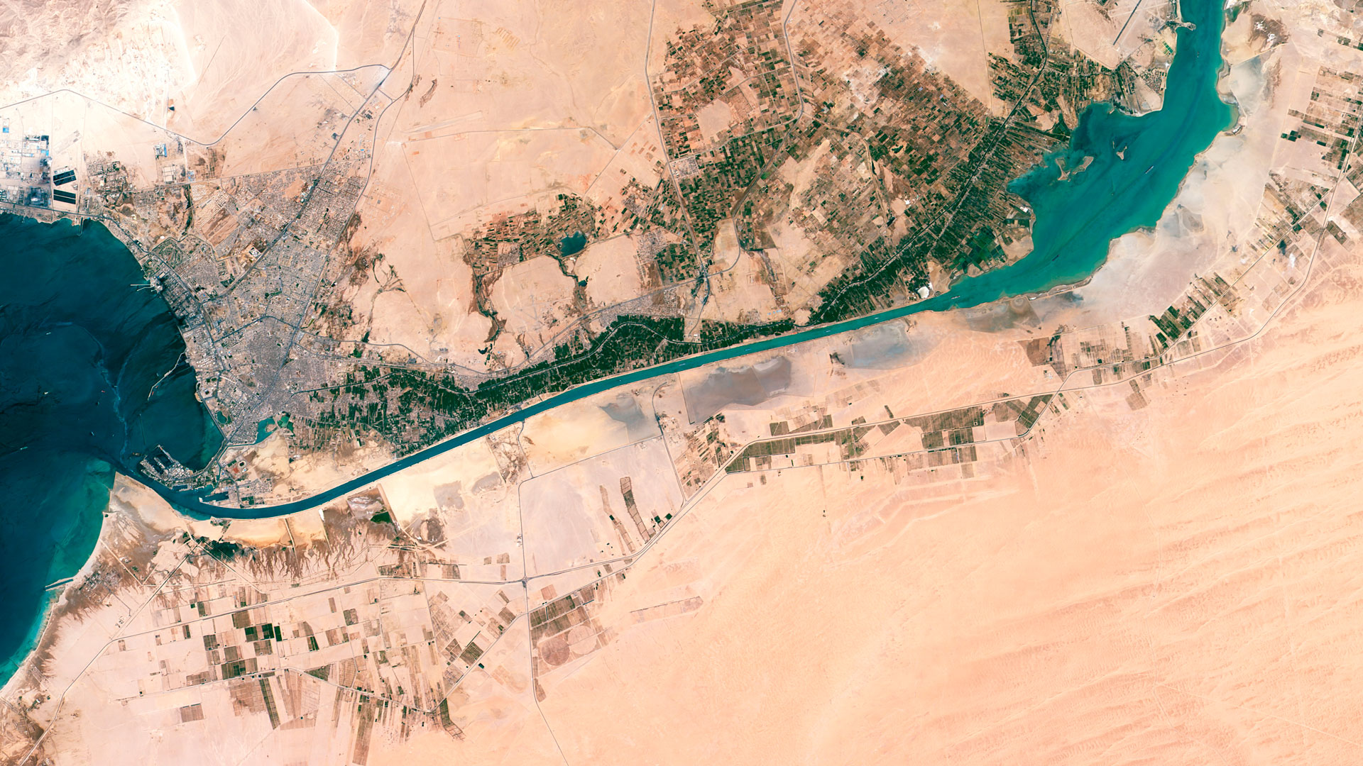 Filesuez canal egypt satellite viewg wikimedia commons filesuez canal egypt satellite viewg gumiabroncs Image collections