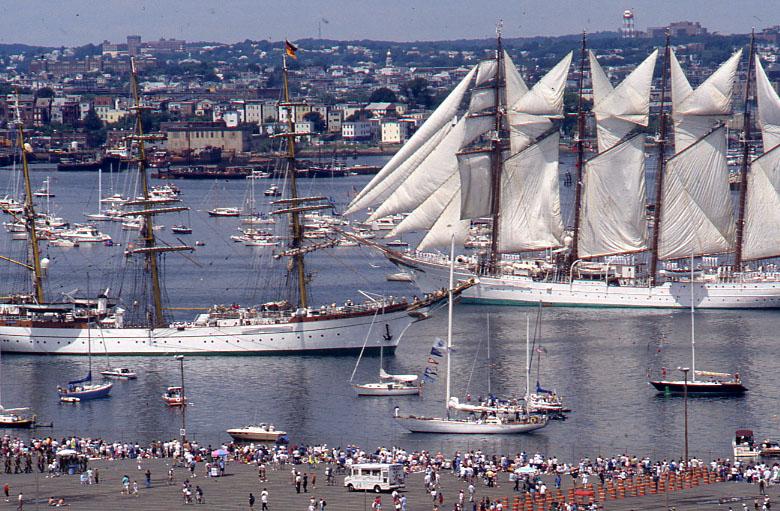 FileTall Ships In Boston Harbor Jpg Wikimedia Commons - Boston tall ship cruise