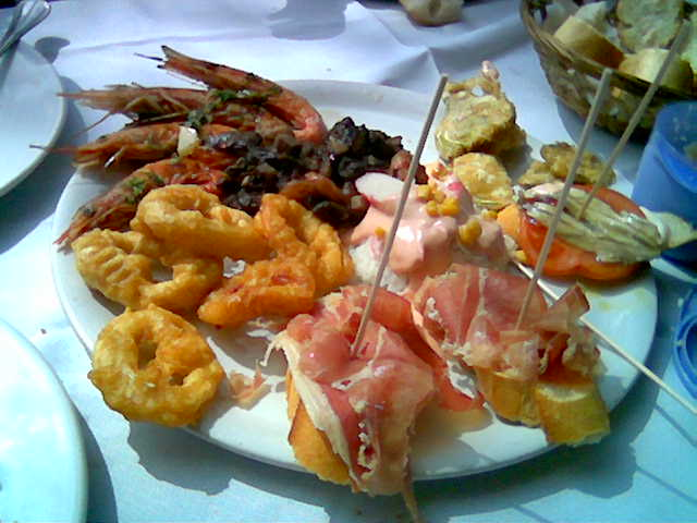 Tapas wikipedia for Cucina molecolare barcellona