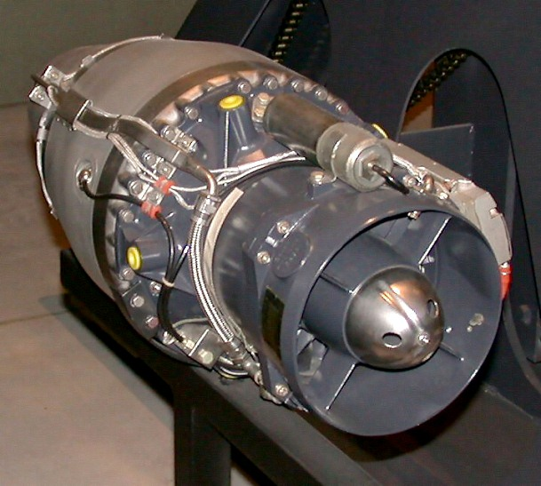 Mini Turboprop Engine: Teledyne CAE J402