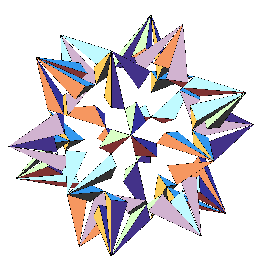 File Tenth Stellation Of Icosahedron Png Wikimedia Commons