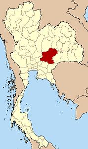 ナコーンラーチャシーマー県の位置