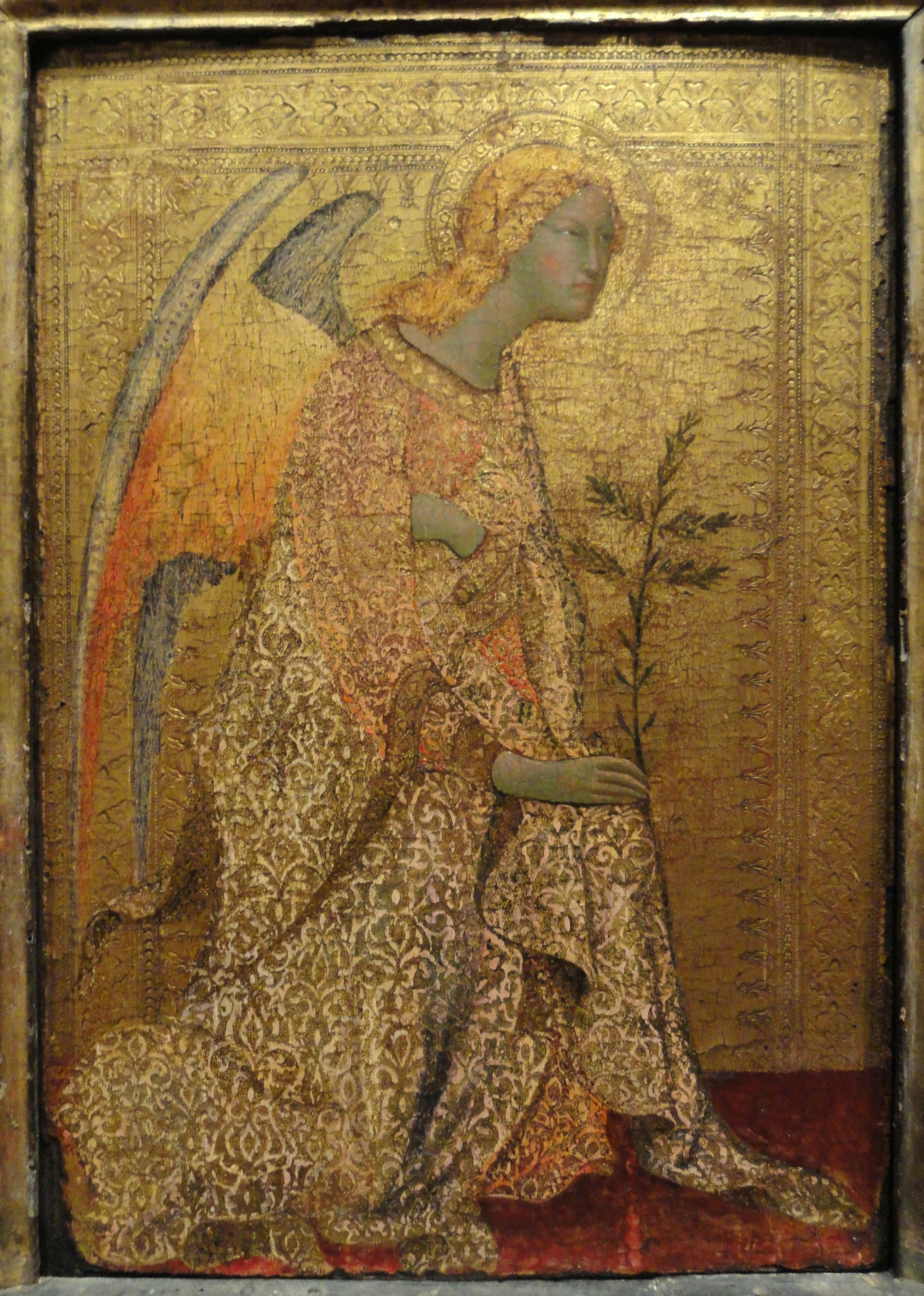 File:The Angel of the Annunciation by Simone Martini, c  1333
