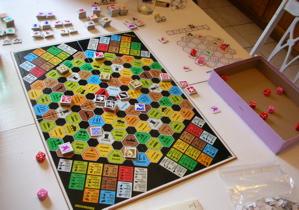 English: Example of a Titan game. Deutsch: Spi...