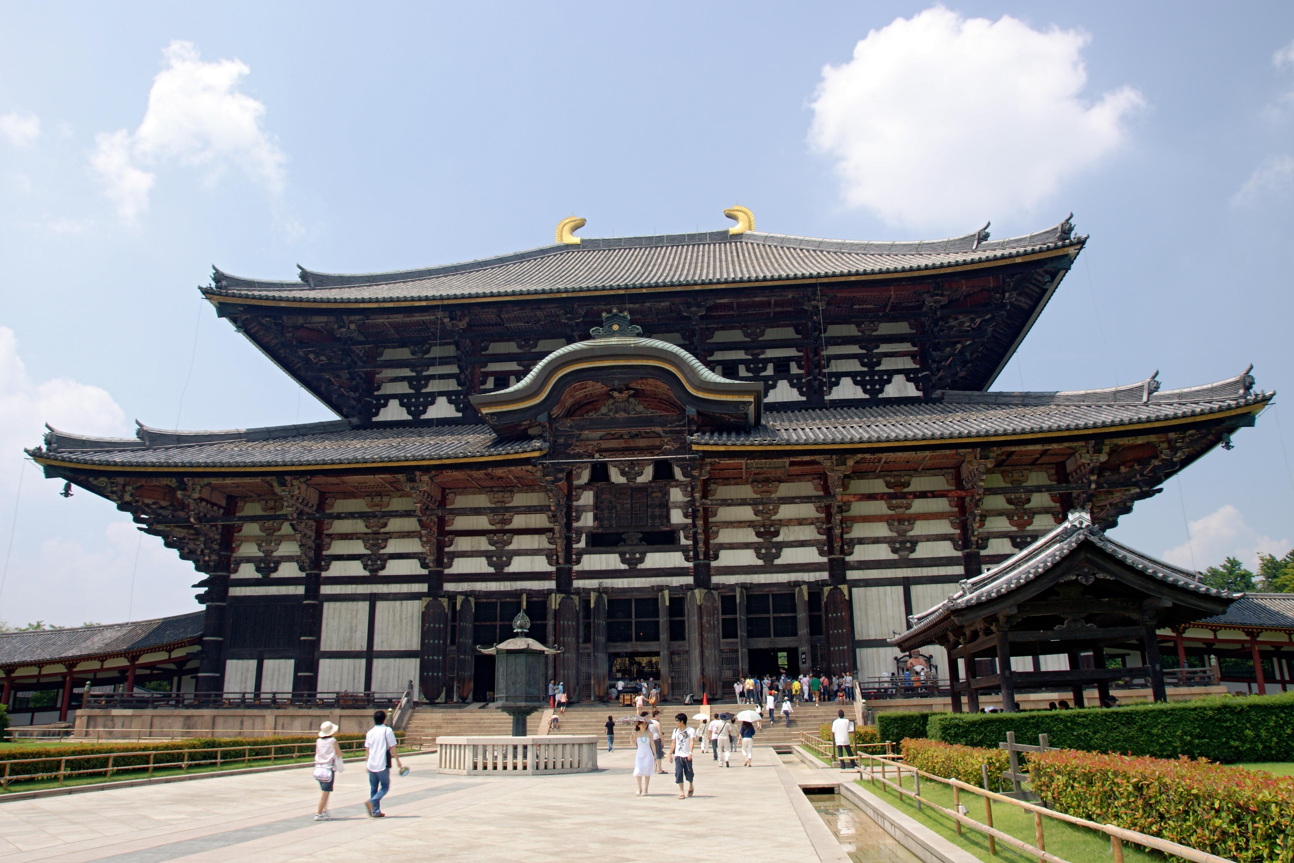 Chrám Tódaidži v Japonsku