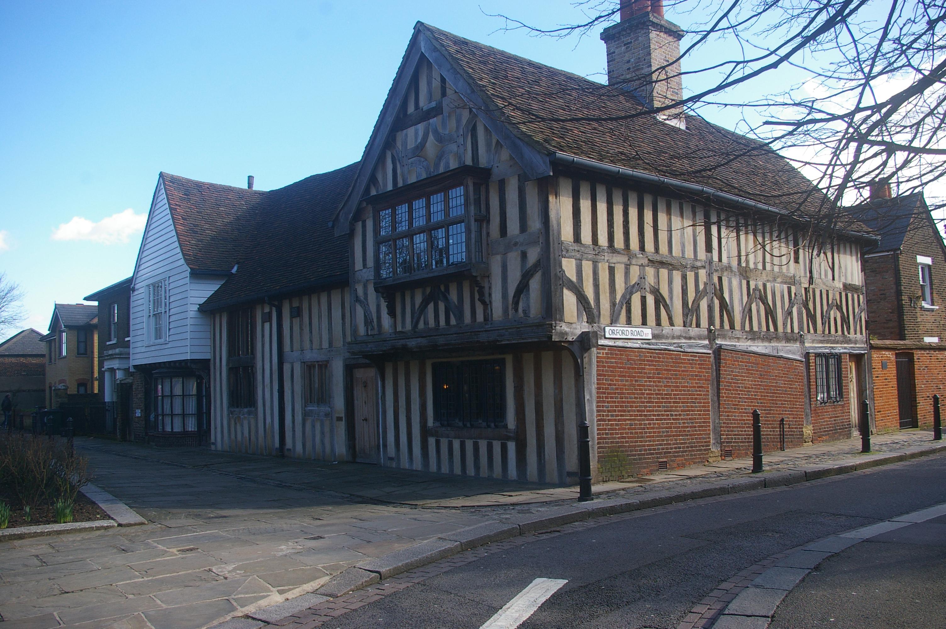File Tudor House Church Lane Orford Road Walthamstow London E17 Geograph Org Uk 1730824