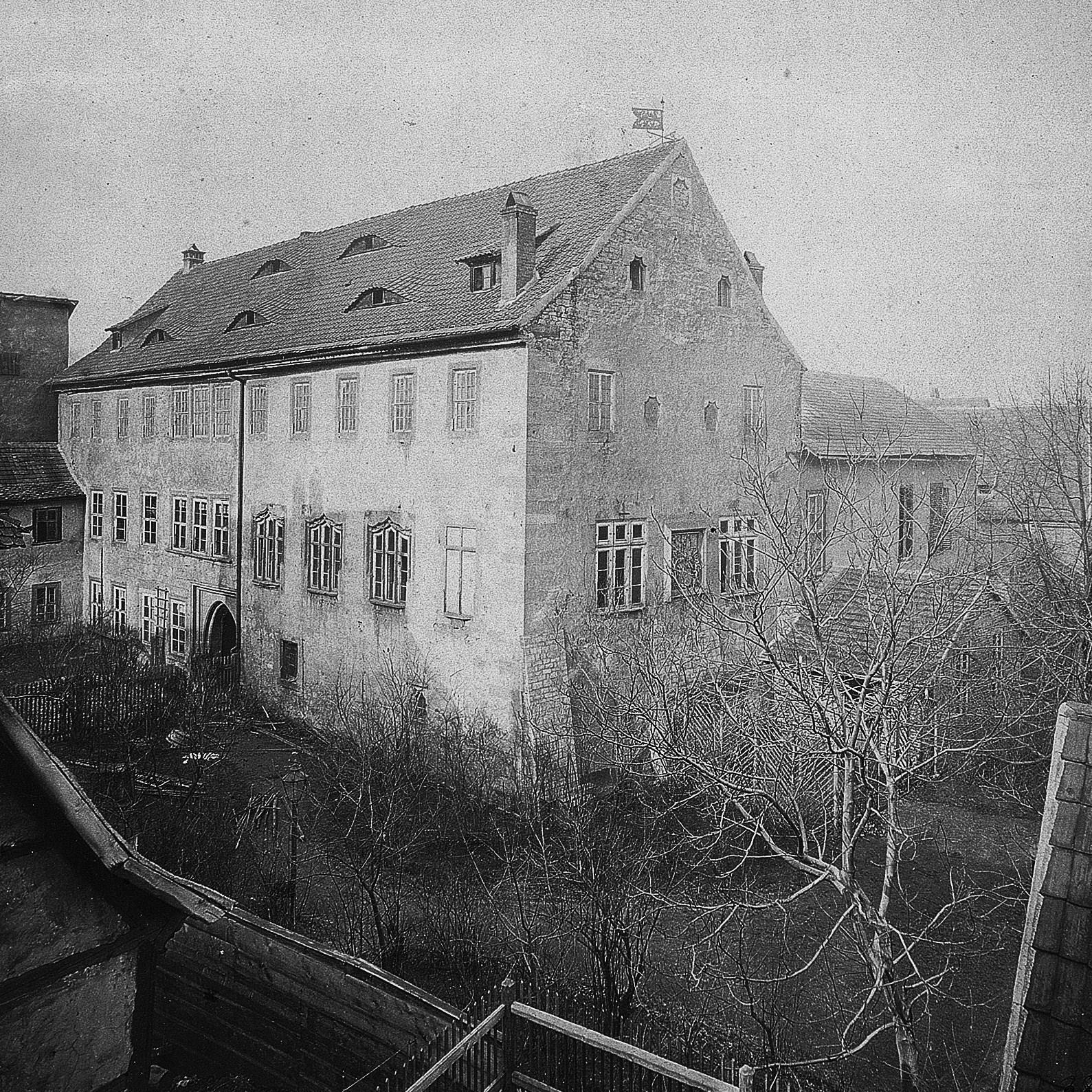 Tuniergasse 17, Hauptgebäude 1870
