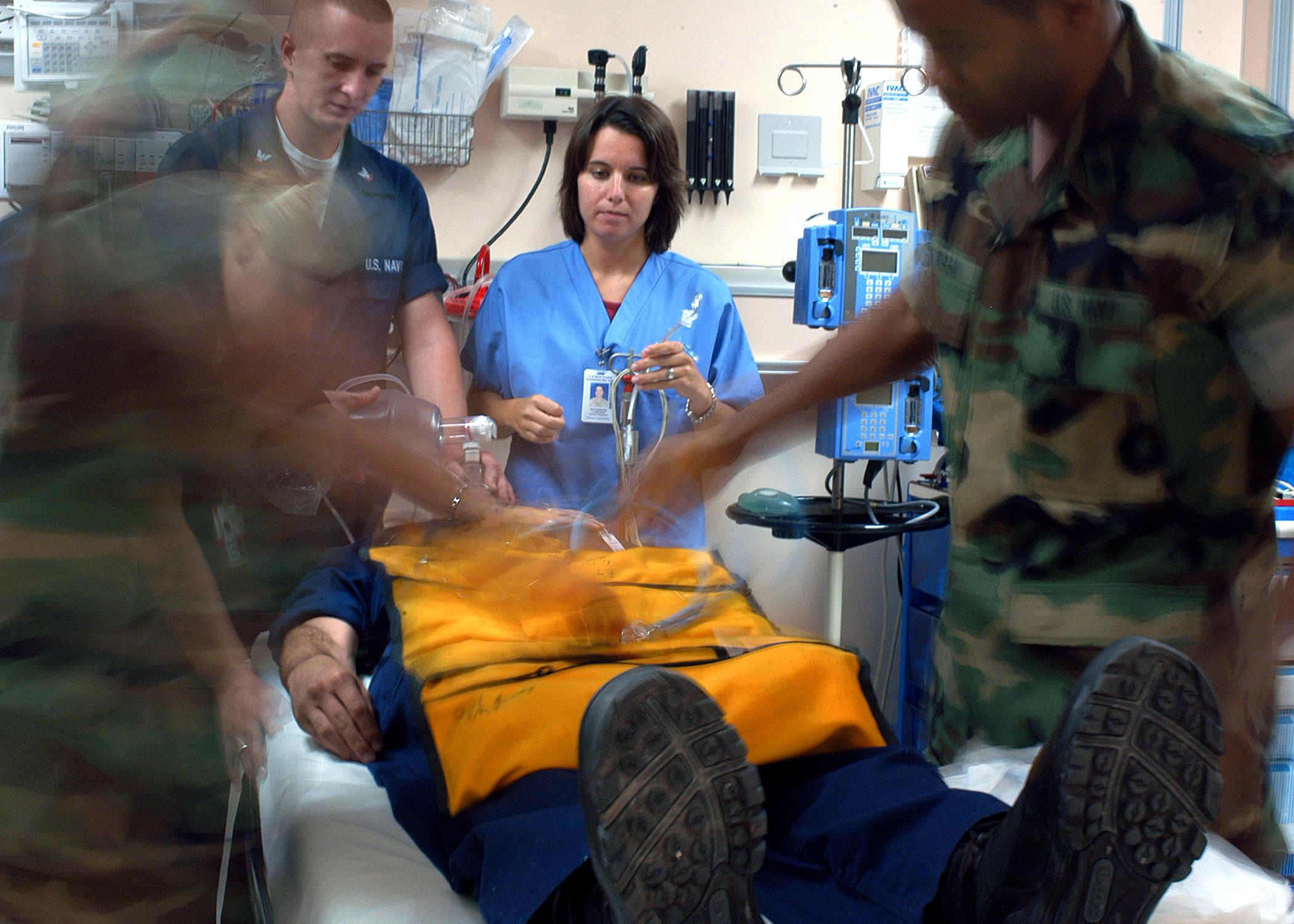 Emergency Room Staff Assaulting Felony Sign