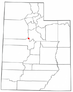 Location in the state of Utah