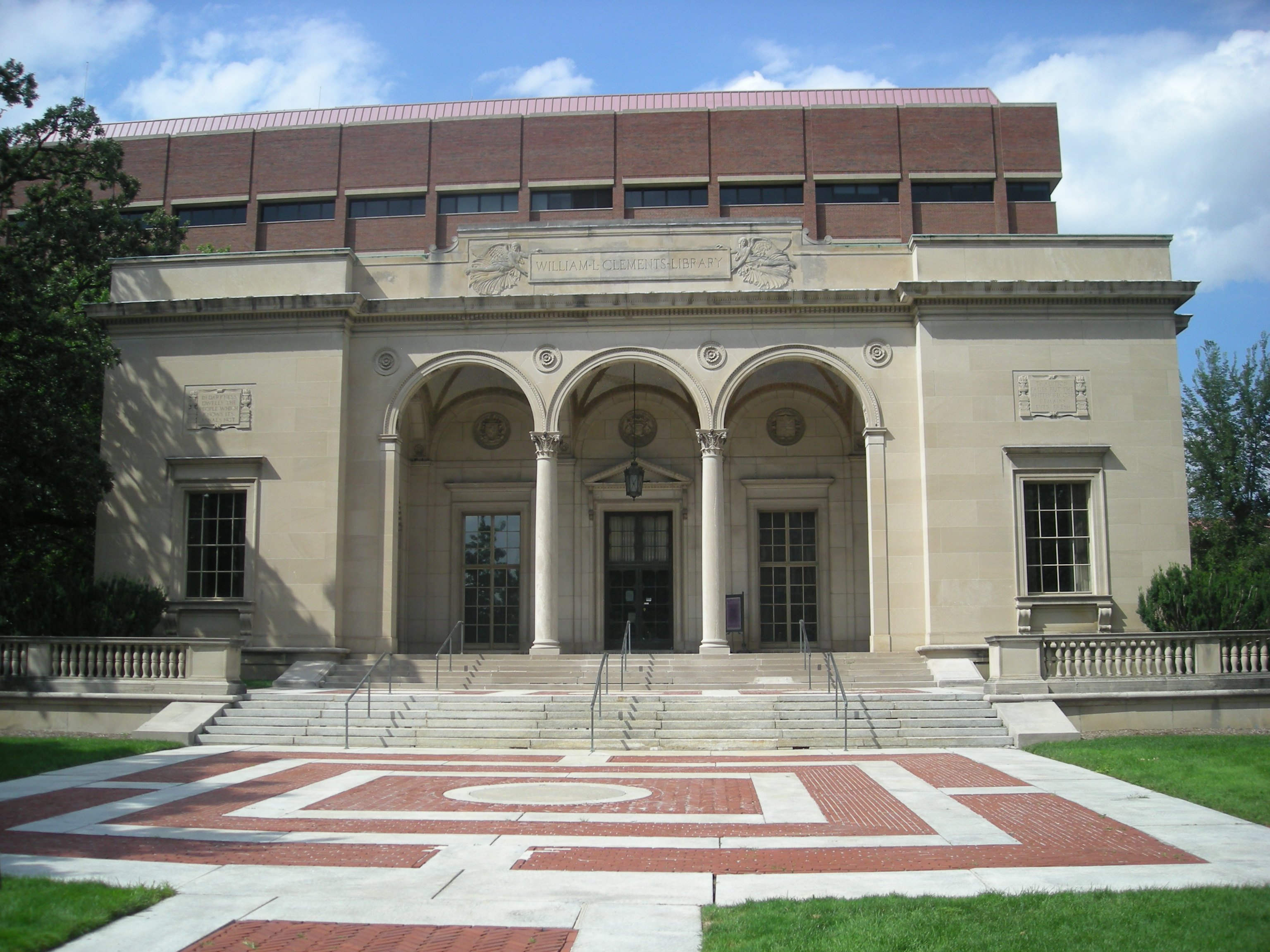 University of Michigan. William L. Clements Library