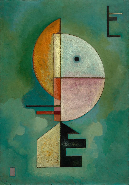 Wassily Kandinsky Upwards 1929 Print 60x80cm