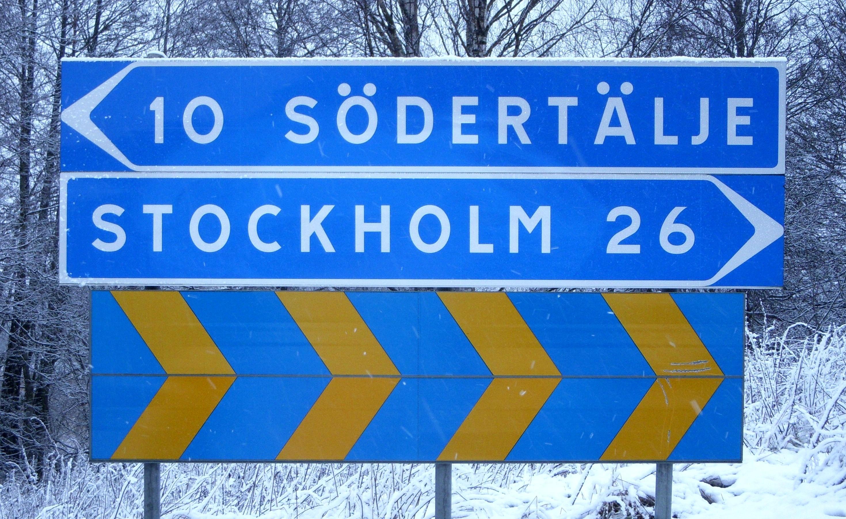 från södertälje till stockholm