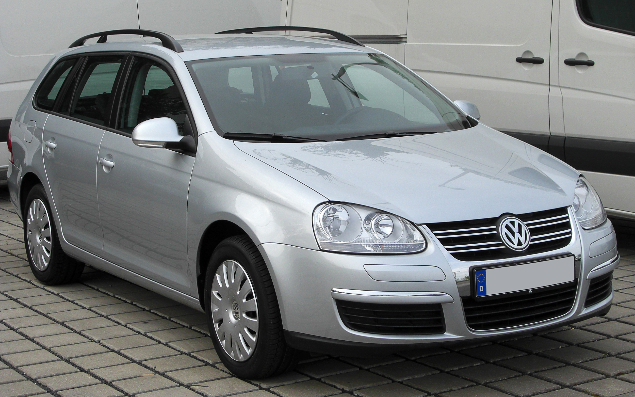 file vw golf v variant tdi front wikimedia commons