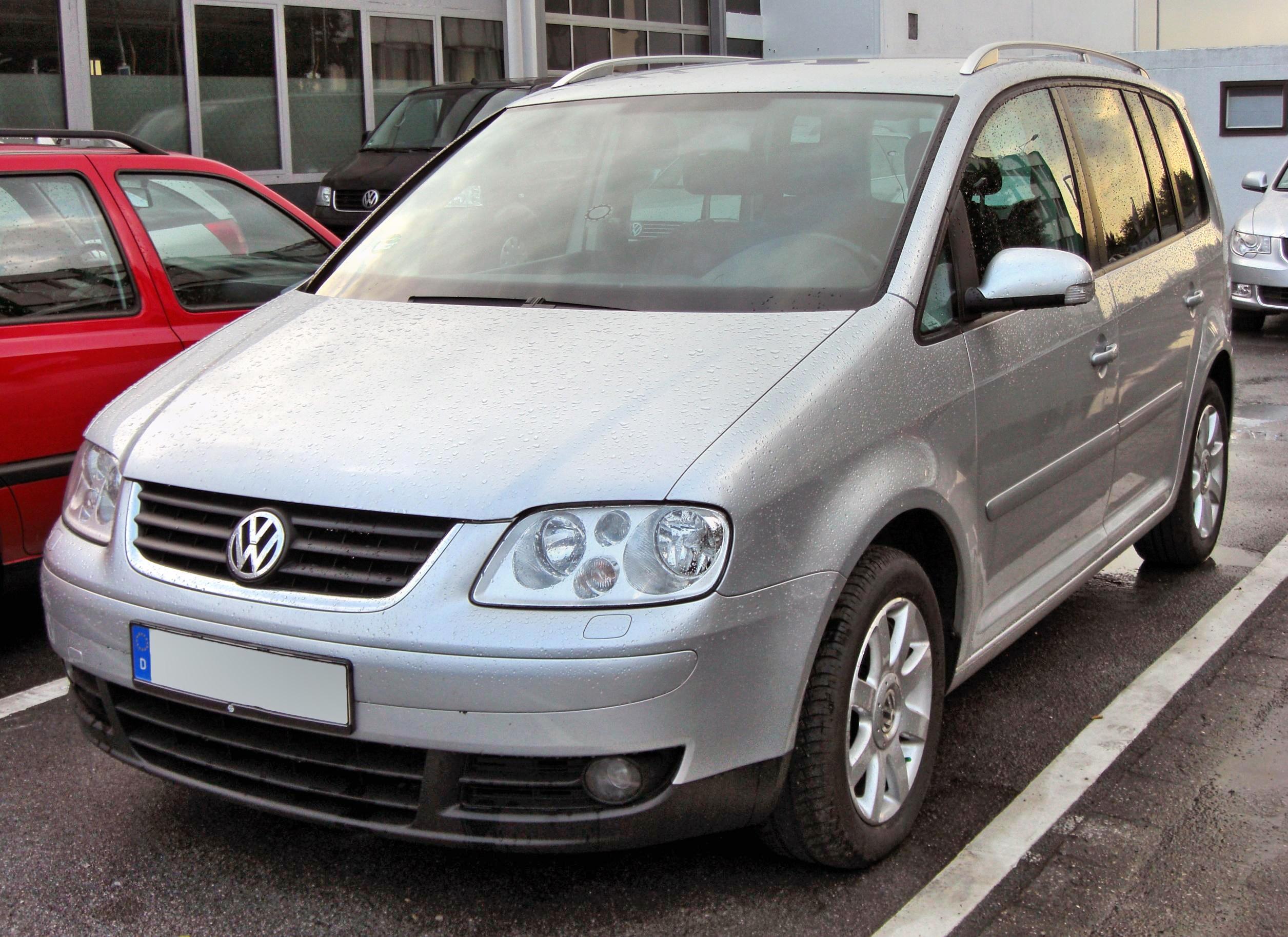 Depiction of Volkswagen Touran