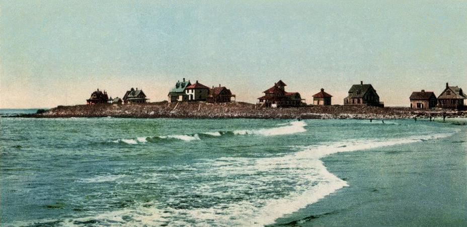 File View Of Kennebunk Beach Me Jpg