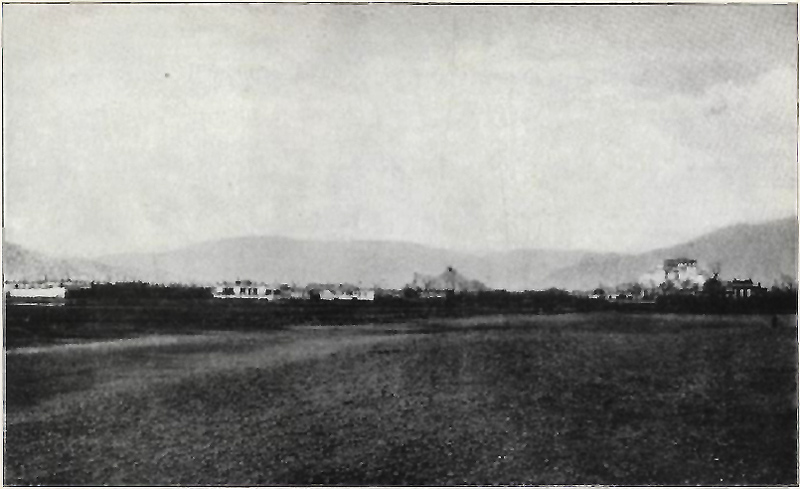 View of Lhasa from east side Tsybikov-Smithsonian-1905-Plate-1.jpg