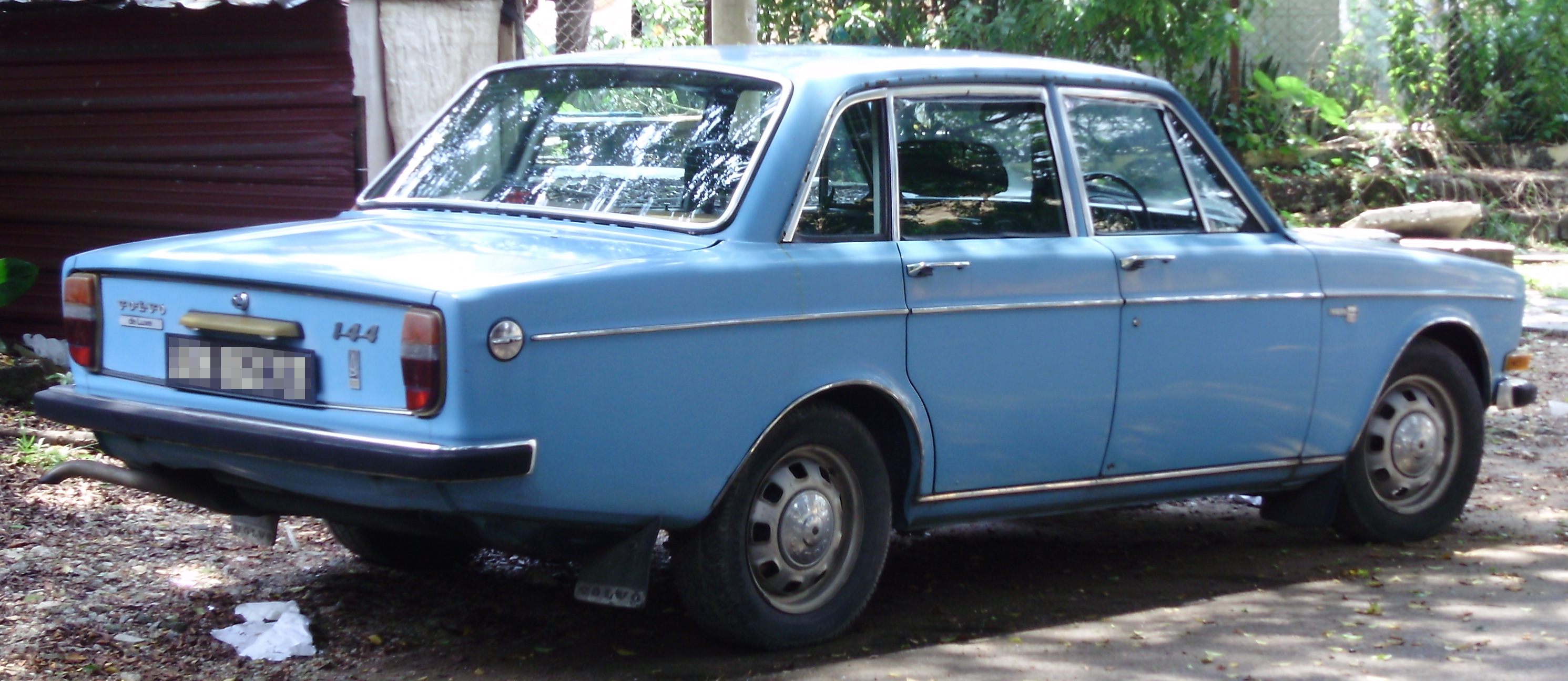 File Volvo 144 Rear Kuala Lumpur Jpg Wikimedia Commons