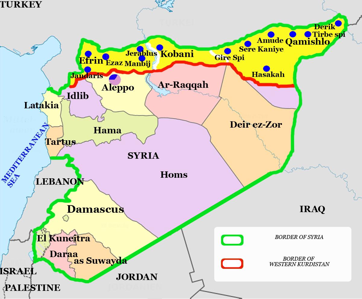 """""""Kobane simboliza o futuro dos curdos no Oriente Médio"""""""