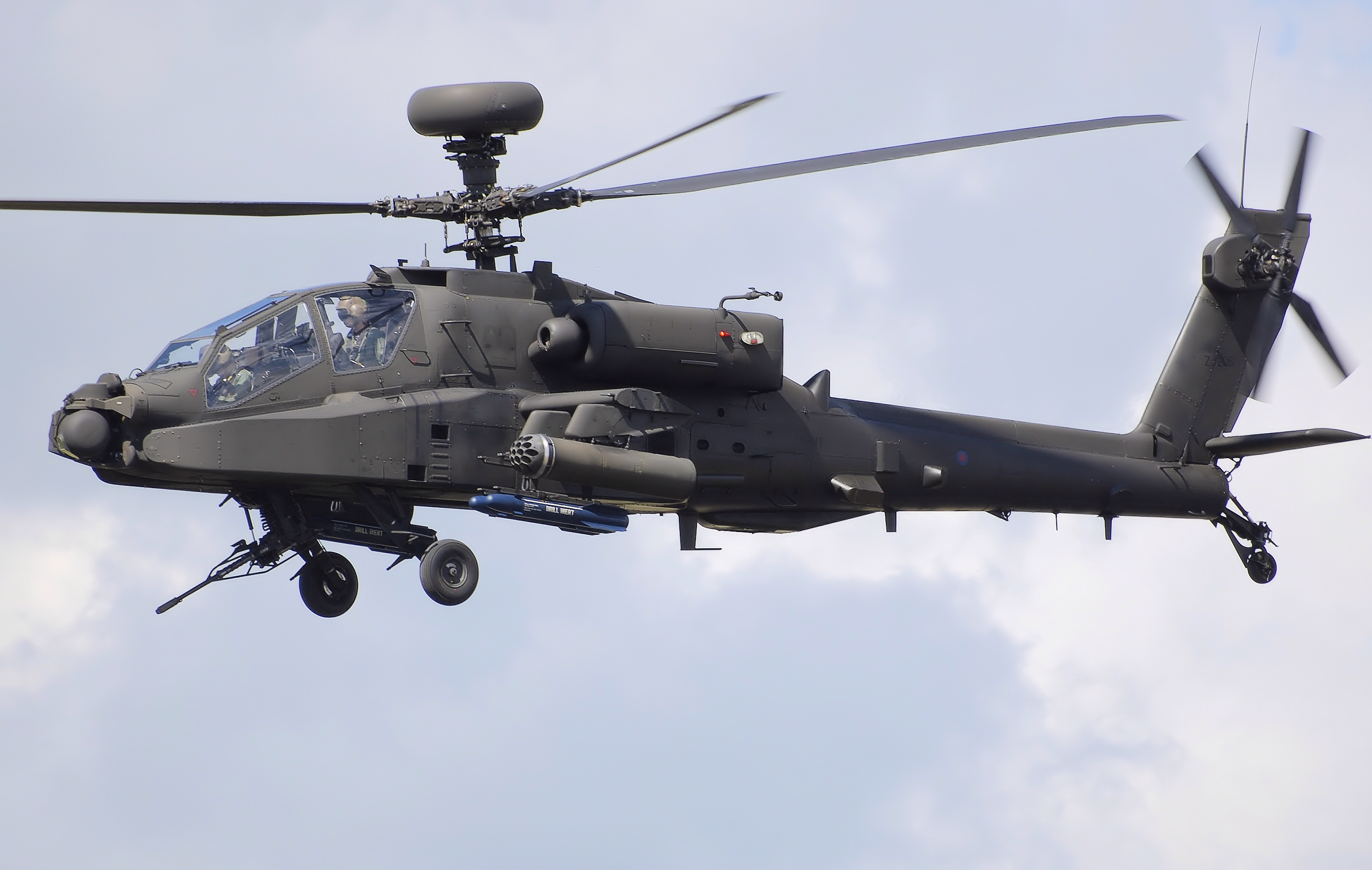 Rotary Wing: Apache Helicopter