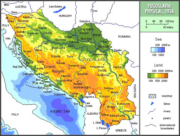 قلمرو پادشاهی یوگوسلاوی