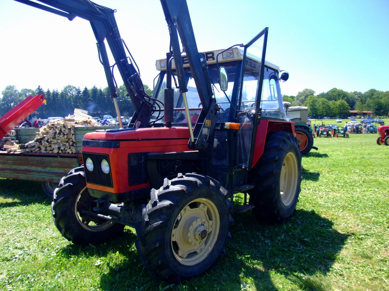 Ford farm tractors sorted by model
