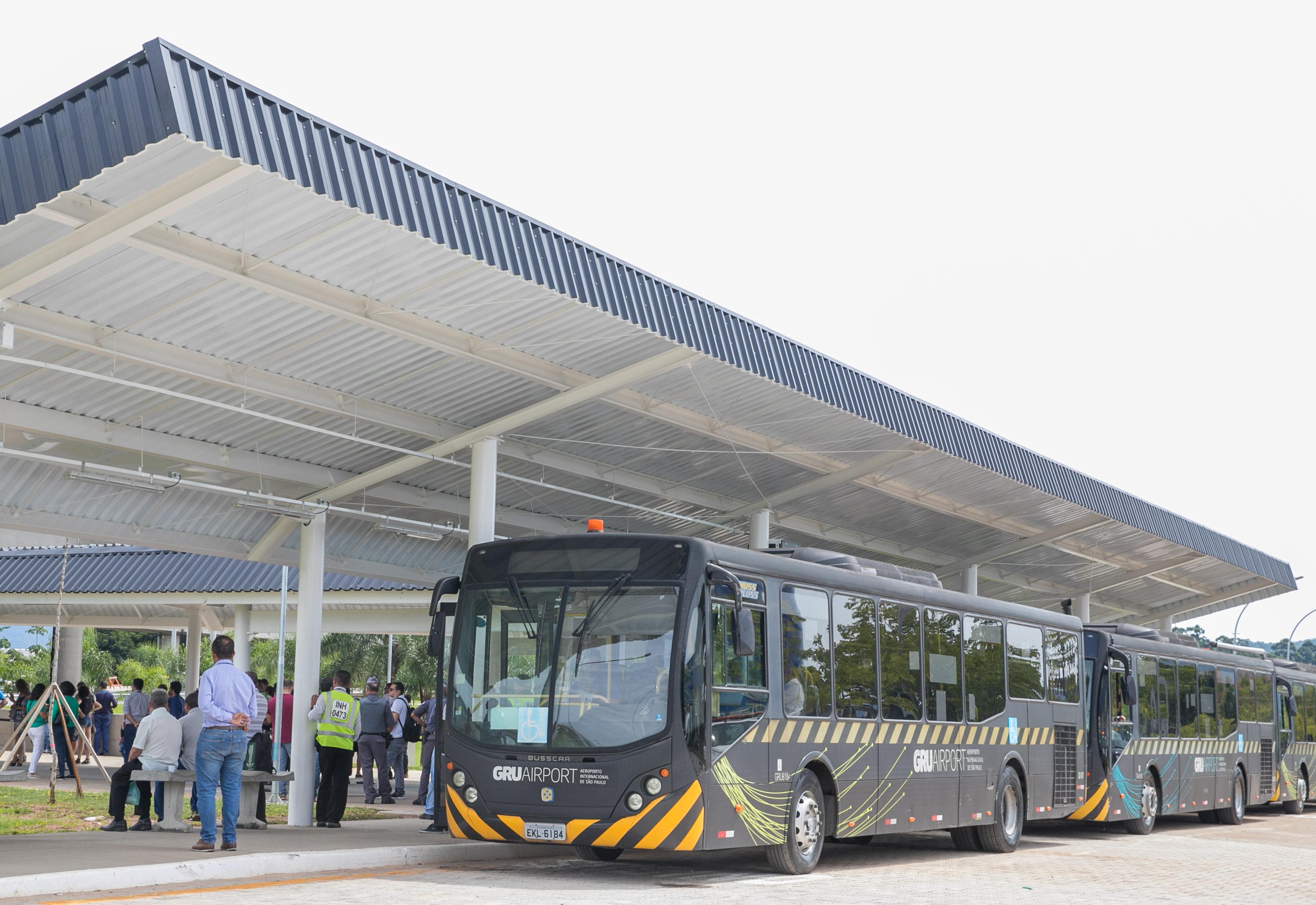 Aeroporto Gru : File Ônibus circular gru airport aeroporto de guarulhos para