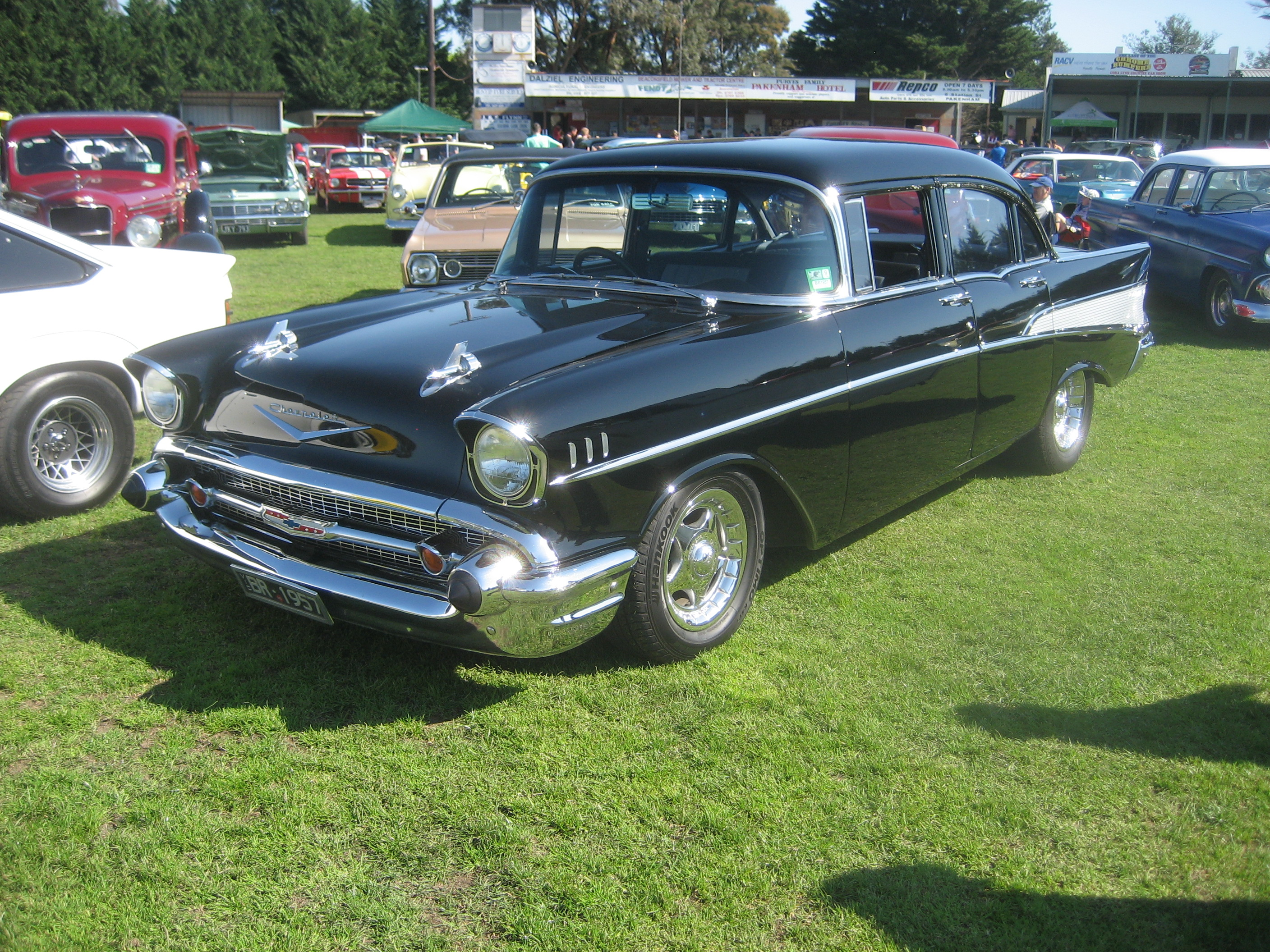 file 1957 chevrolet bel air wikimedia commons. Black Bedroom Furniture Sets. Home Design Ideas