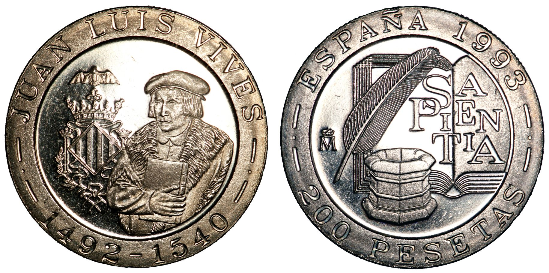 File 1993 200 Pesetas Jpg Wikimedia Commons